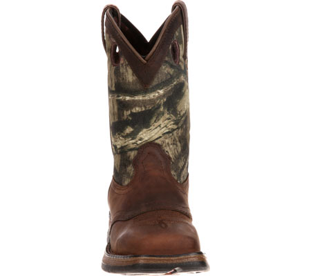 """Children's Durango Boot DBT0121 Lil' Rebel 8"""" Saddle, Distressed Brown/Camo Leather, large, image 4"""