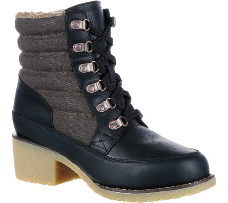 """Women's Durango Boot DRD0153 6"""" Durango Cabin Collection Boot, Black Full Grain Leather, large, image 1"""