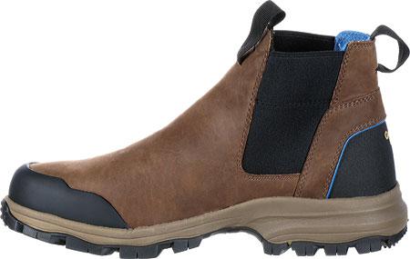 """Men's Georgia Boot GB00106 5"""" BC Chelsea Waterproof Work Boot, Dark Brown Full Grain Leather, large, image 3"""