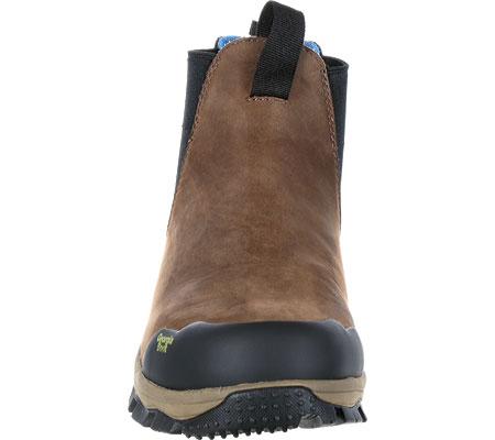 """Men's Georgia Boot GB00106 5"""" BC Chelsea Waterproof Work Boot, Dark Brown Full Grain Leather, large, image 4"""