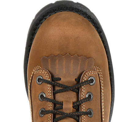"Men's Georgia Boot GB00098 9"" CC Insul Logger Waterproof Work Boot, Brown Full Grain Leather, large, image 6"