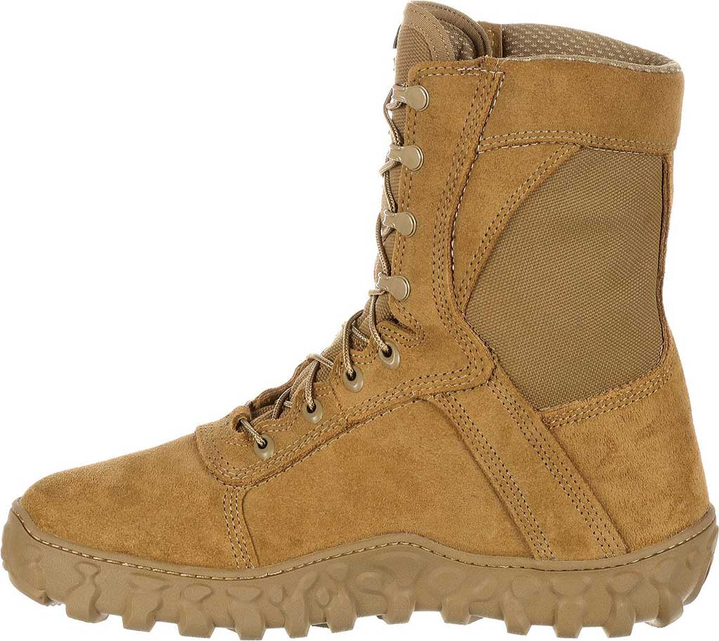 """Rocky 8"""" S2V Waterproof Insulated Military Boot, Coyote Brown Nylon/Leather, large, image 3"""