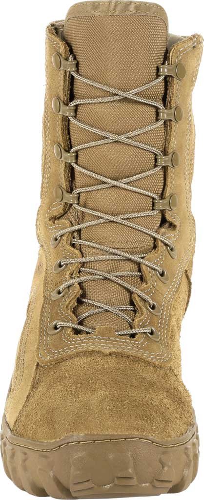 """Rocky 8"""" S2V Waterproof Insulated Military Boot, Coyote Brown Nylon/Leather, large, image 4"""