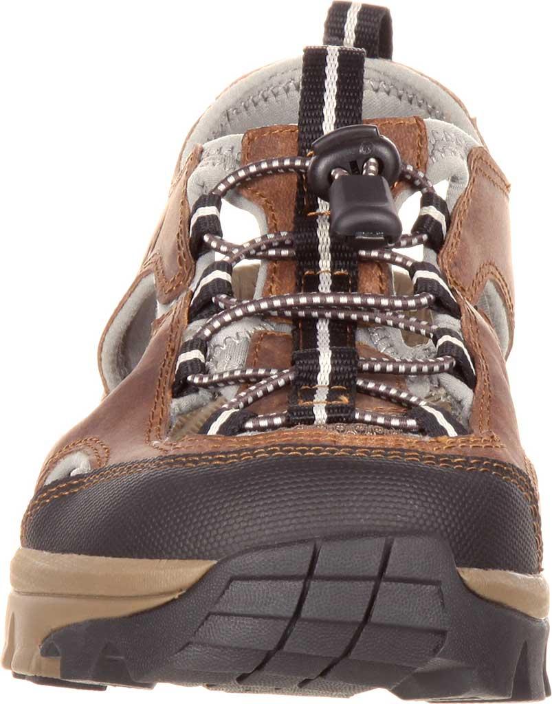 Women's Rocky Endeavor Point Hiking Sandal, Brown Full Grain Leather, large, image 4