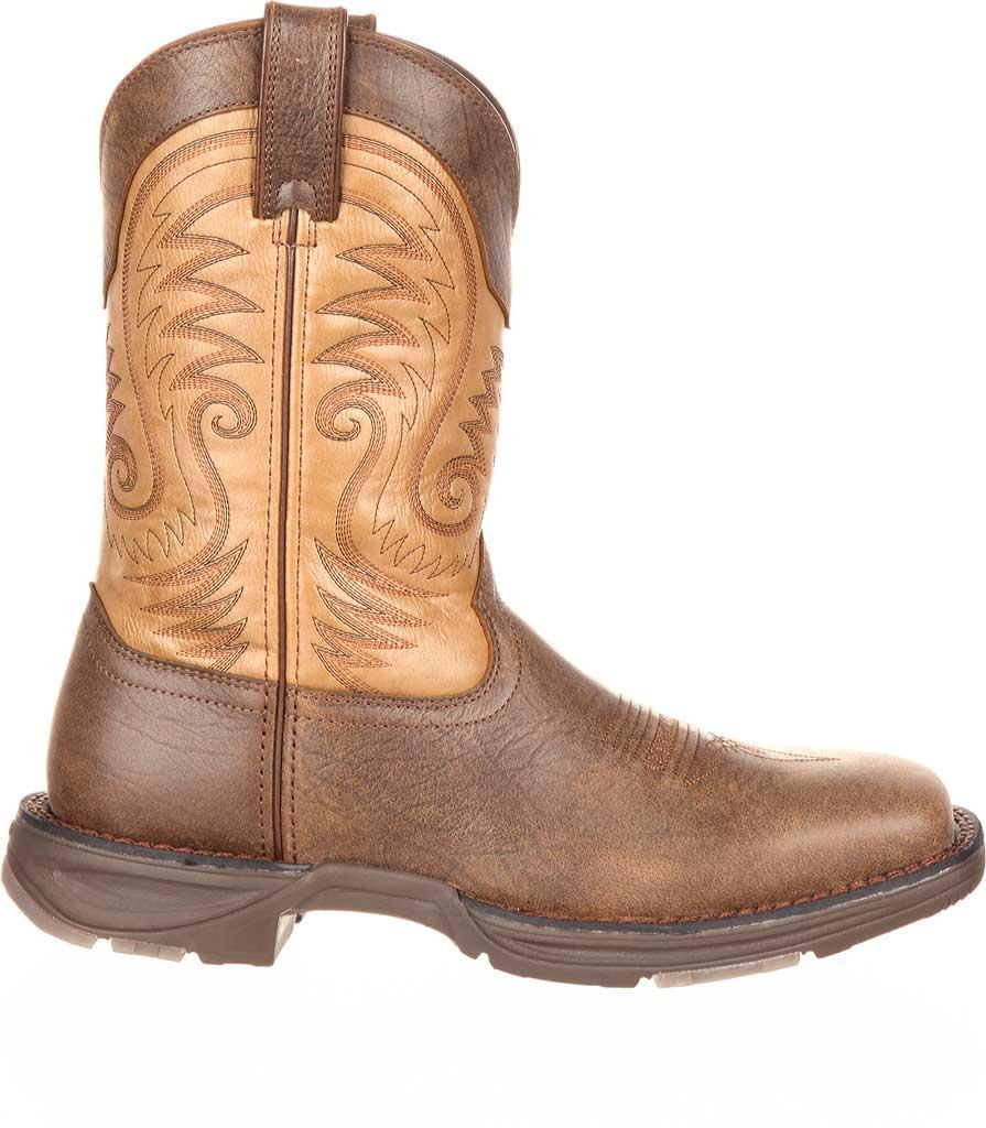 "Men's Durango Boot DDB0109 11"" UltraLite Western Boot, Vintage Brown Full Grain Leather, large, image 2"
