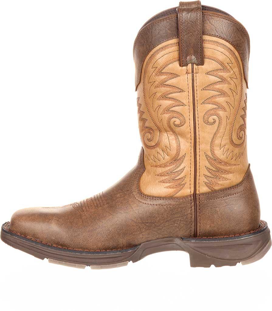 "Men's Durango Boot DDB0109 11"" UltraLite Western Boot, Vintage Brown Full Grain Leather, large, image 3"