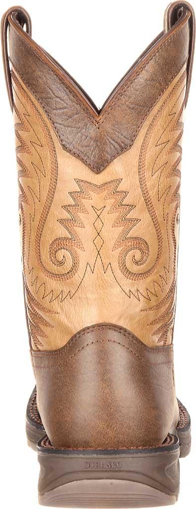 "Men's Durango Boot DDB0109 11"" UltraLite Western Boot, Vintage Brown Full Grain Leather, large, image 5"