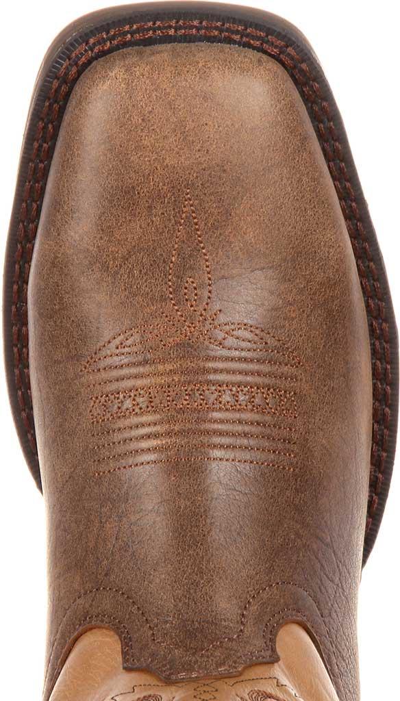 "Men's Durango Boot DDB0109 11"" UltraLite Western Boot, Vintage Brown Full Grain Leather, large, image 6"