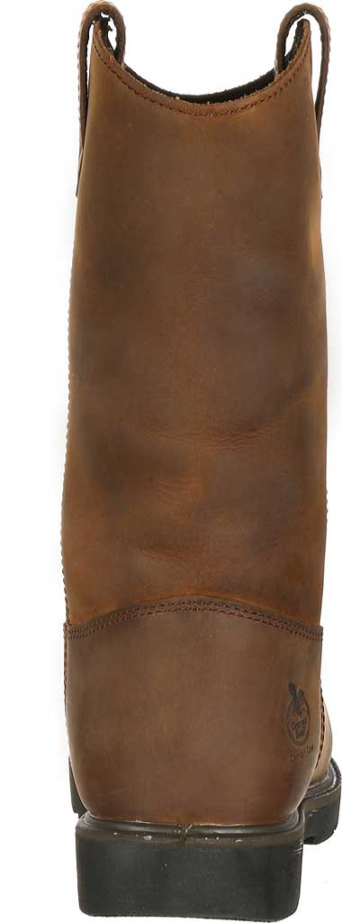 Men's Georgia Boot GB00085 Suspension System WP Wellington Boot, Brown Leather, large, image 3