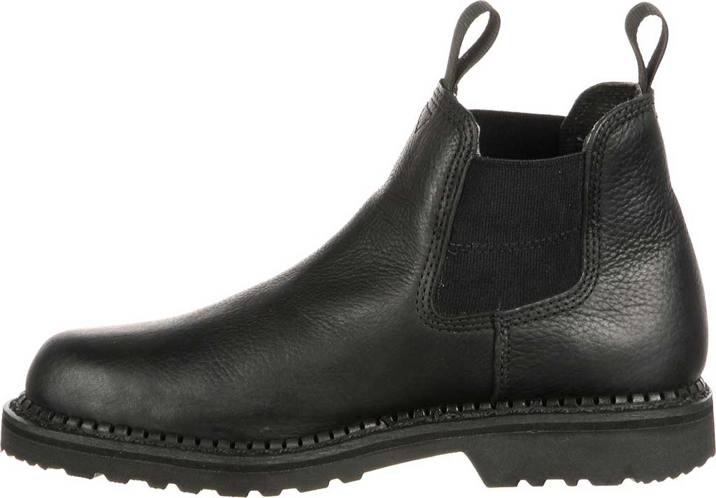 Men's Georgia Boot GB00084 Georgia Giant Waterproof High Romeo Boot, Black Full Grain Leather, large, image 3