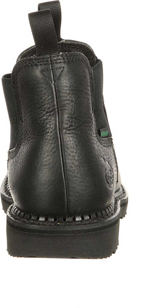 Men's Georgia Boot GB00084 Georgia Giant Waterproof High Romeo Boot, Black Full Grain Leather, large, image 4