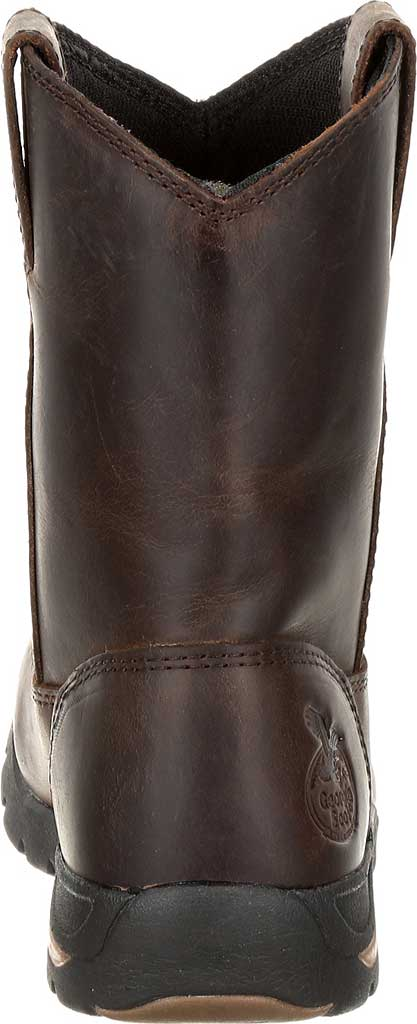Children's Georgia Boot GB00232C Athen's Pull-On Boot, Brown Full Grain Leather, large, image 4