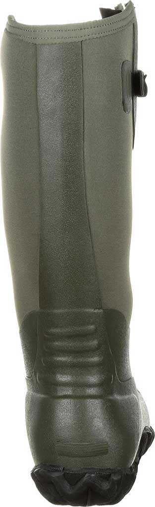 Men's Georgia Boot GB00230 Waterproof Rubber Knee High Boot, Green Rubber, large, image 4