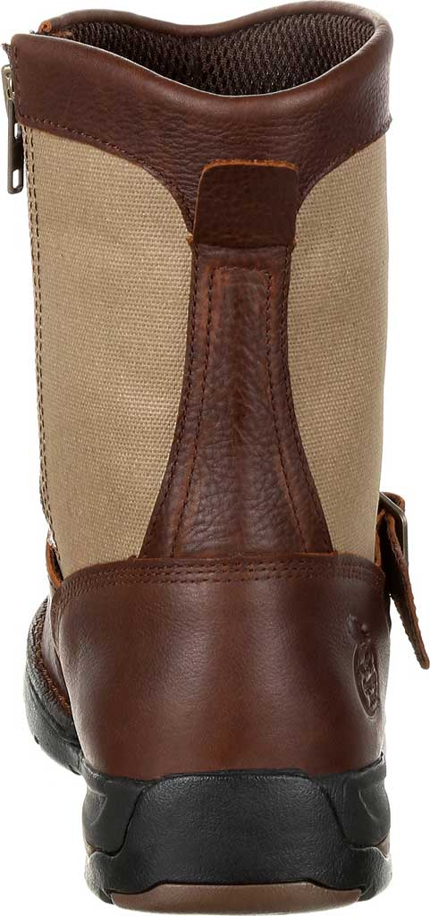 Men's Georgia Boot GB00245 Athens Waterproof Side-Zip Boot, Brown Full Grain Leather, large, image 4