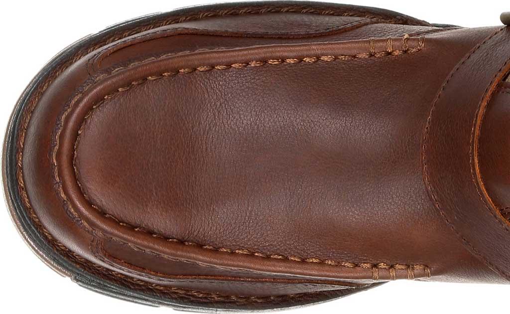 Men's Georgia Boot GB00245 Athens Waterproof Side-Zip Boot, Brown Full Grain Leather, large, image 5