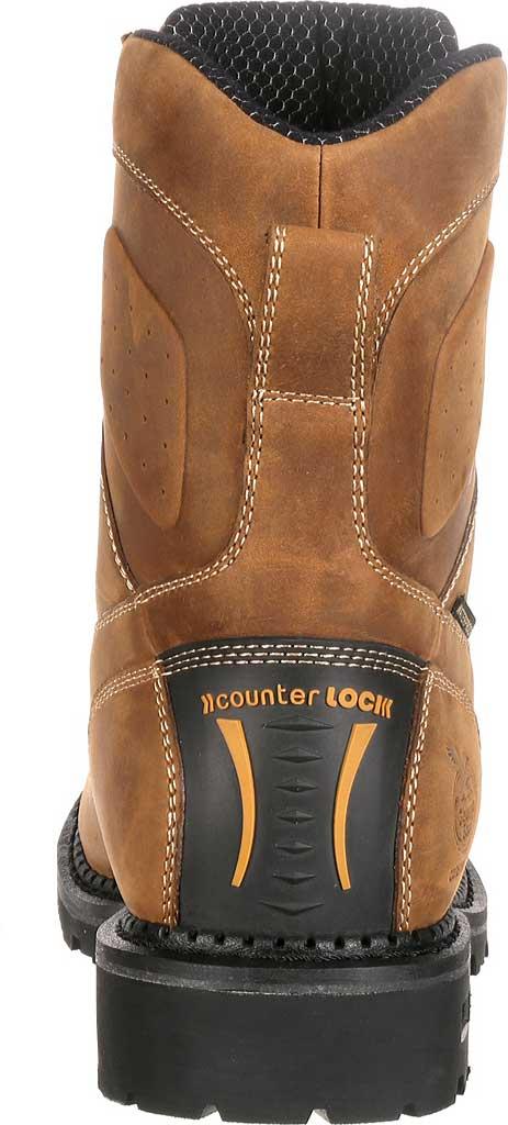 Men's Georgia Boot GB00123 Comfort Core Comp Toe WP Logger Work Boot, Crazy Horse Full Grain Leather, large, image 4
