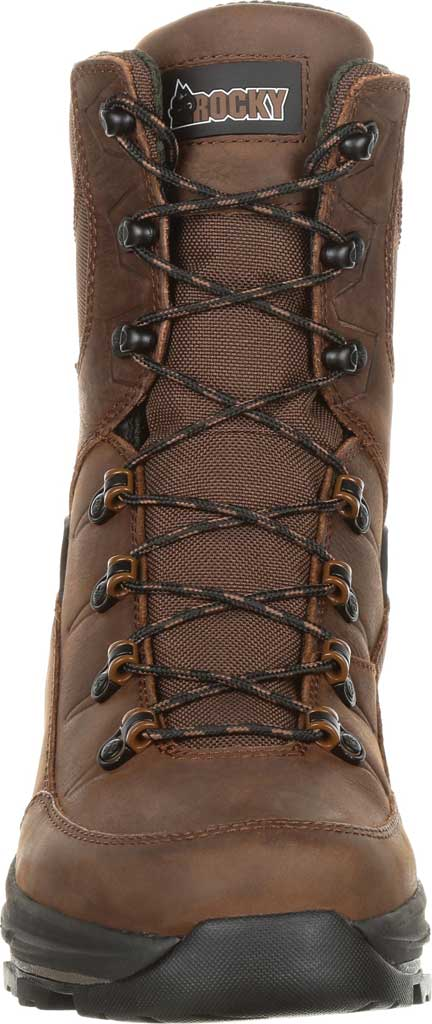 Men's Rocky Grizzly WP 200G Insulated Outdoor Boot RKS0365, Dark Brown Full Grain Leather/Nylon, large, image 4