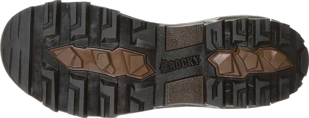 Men's Rocky Grizzly WP 200G Insulated Outdoor Boot RKS0365, Dark Brown Full Grain Leather/Nylon, large, image 7