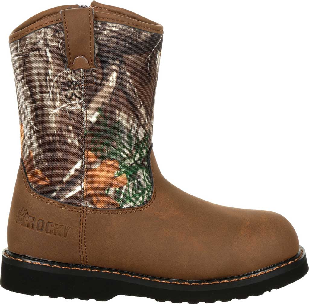 Children's Rocky Lil Ropers Outdoor Boot RKS0358Y, Camouflage Nylon, large, image 2