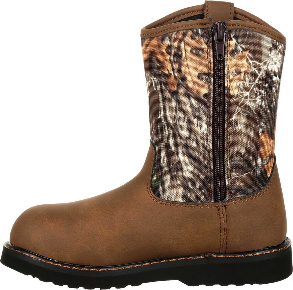 Children's Rocky Lil Ropers Outdoor Boot RKS0358Y, Camouflage Nylon, large, image 3