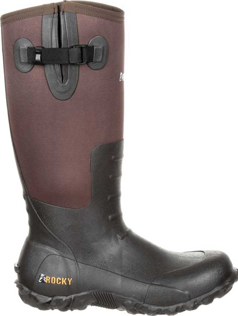 Men's Rocky Core Rubber Waterproof Outdoor Boot RKS0352, Brown Rubber/Neoprene, large, image 2