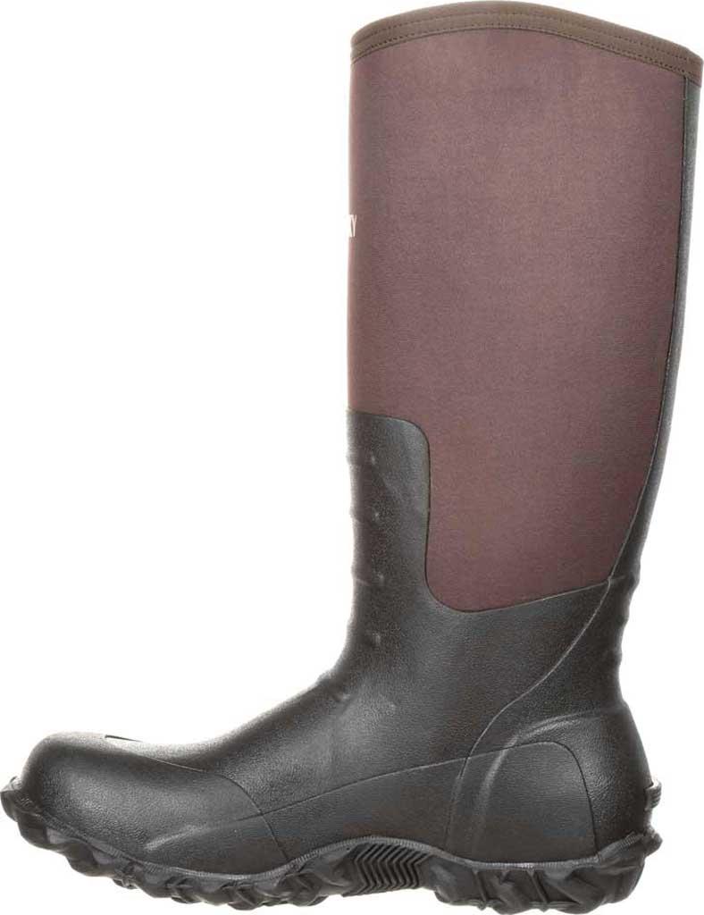 Men's Rocky Core Rubber Waterproof Outdoor Boot RKS0352, Brown Rubber/Neoprene, large, image 3