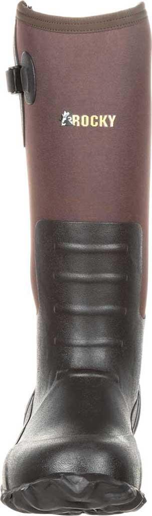 Men's Rocky Core Rubber Waterproof Outdoor Boot RKS0352, Brown Rubber/Neoprene, large, image 4