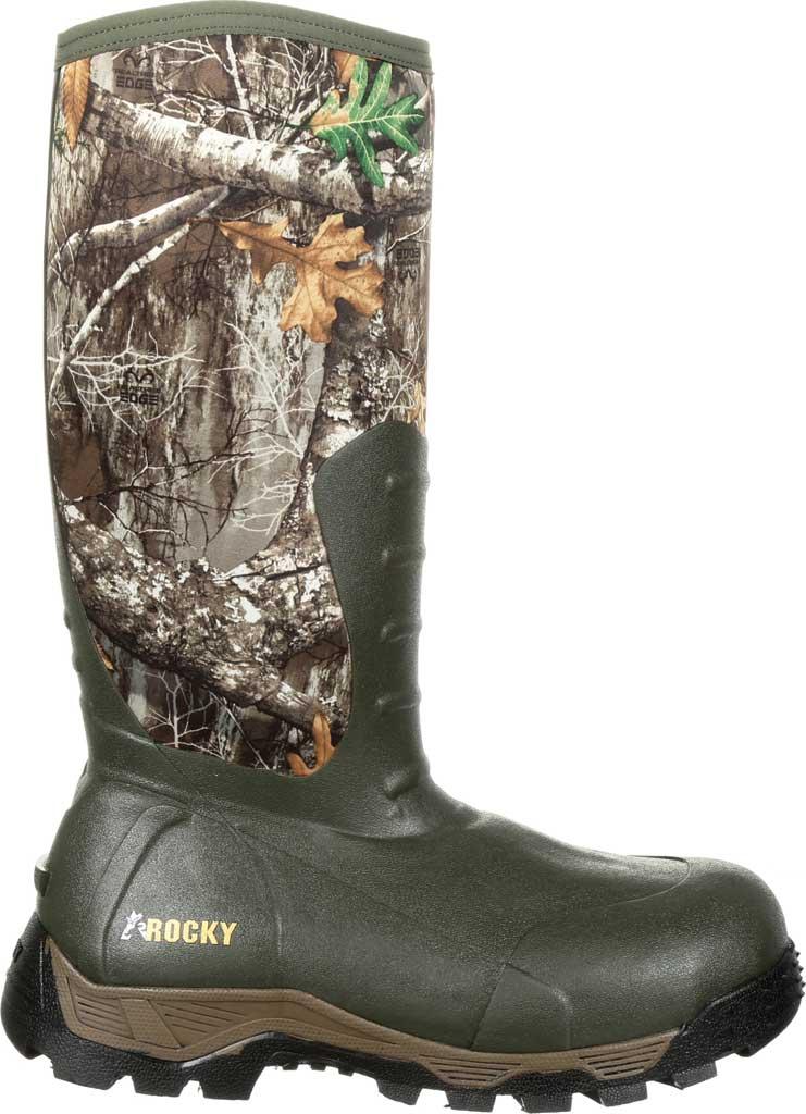 Men's Rocky Sport Pro 1200G Insulated WP Outdoor Boot RKS0382, Realtree Edge Rubber/Neoprene, large, image 2
