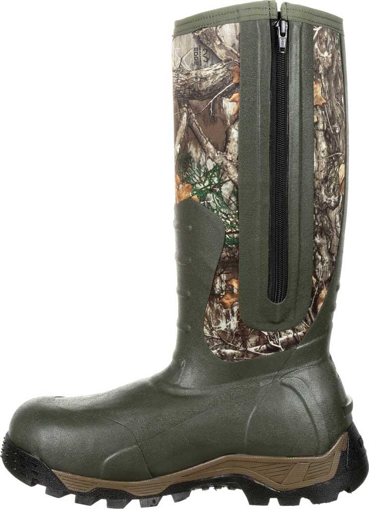 Men's Rocky Sport Pro 1200G Insulated WP Outdoor Boot RKS0382, Realtree Edge Rubber/Neoprene, large, image 3