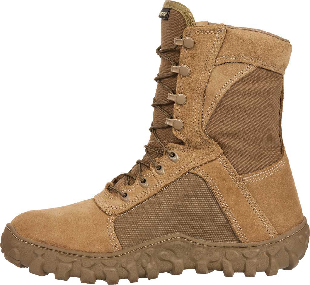 Men's Rocky S2V GTX WP 400G Insulated Military Boot FQ00104-1, Coyote Brown Leather, large, image 3