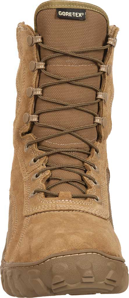 Men's Rocky S2V GTX WP 400G Insulated Military Boot FQ00104-1, Coyote Brown Leather, large, image 4