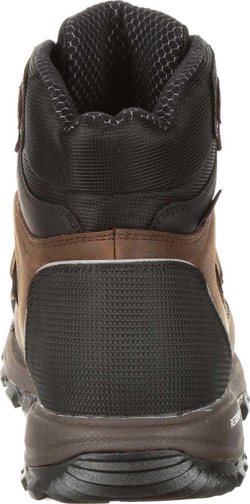 Men's Rocky XO-Toe Composite Waterproof Work Boot RKK0253, Brown Full Grain Leather/Synthetic, large, image 4