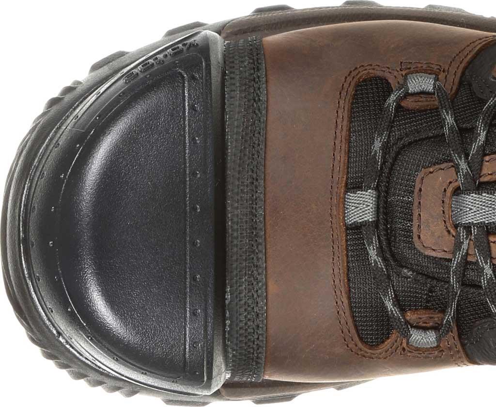 Men's Rocky XO-Toe Composite Waterproof Work Boot RKK0253, Brown Full Grain Leather/Synthetic, large, image 5
