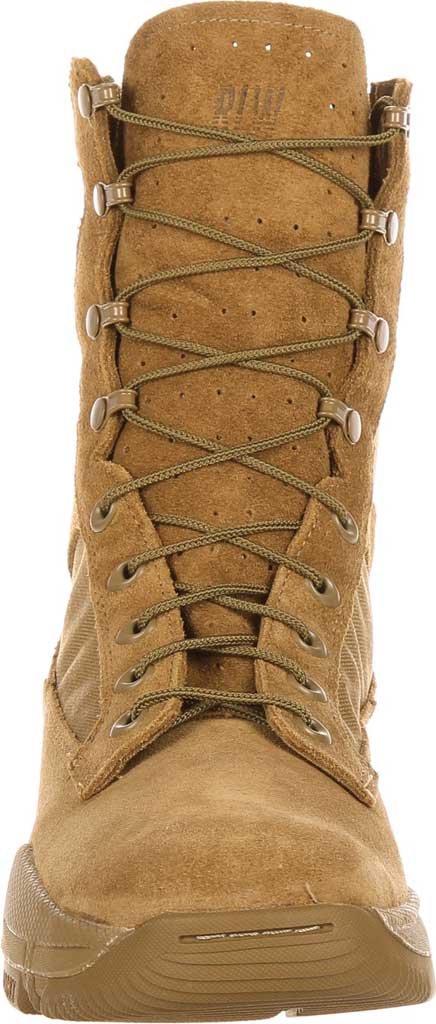 Men's Rocky Lightweight Commercial Military Boot RKC042, Coyote Brown Leather/Cordura, large, image 4