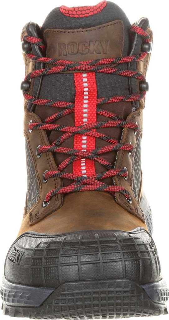 "Men's Rocky Treadflex Composite Toe WP 6"" Work Boot RKK0238"", Dark Brown Full Grain Leather/Synthetic, large, image 4"