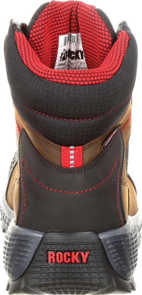 "Men's Rocky Treadflex Composite Toe WP 6"" Work Boot RKK0238"", Dark Brown Full Grain Leather/Synthetic, large, image 5"