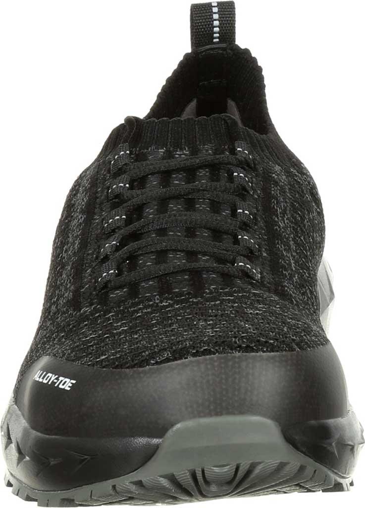 Men's Rocky LX Alloy Toe Athletic Work Shoe RKK0248, Black/Grey Mesh/TPU, large, image 4