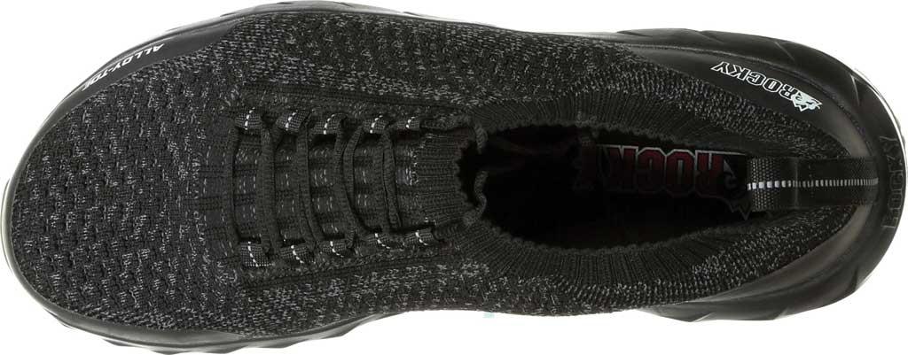 Men's Rocky LX Alloy Toe Athletic Work Shoe RKK0248, Black/Grey Mesh/TPU, large, image 6