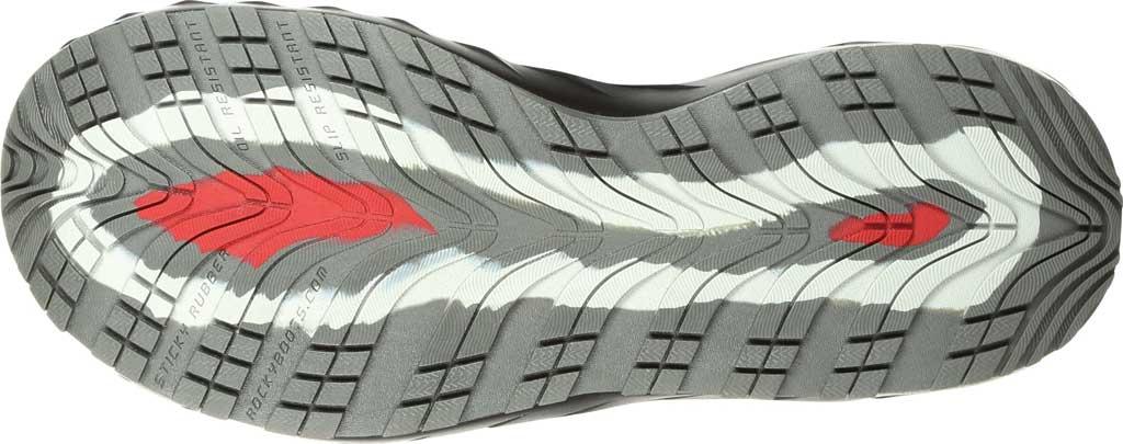 Men's Rocky LX Alloy Toe Athletic Work Shoe RKK0248, Black/Grey Mesh/TPU, large, image 7