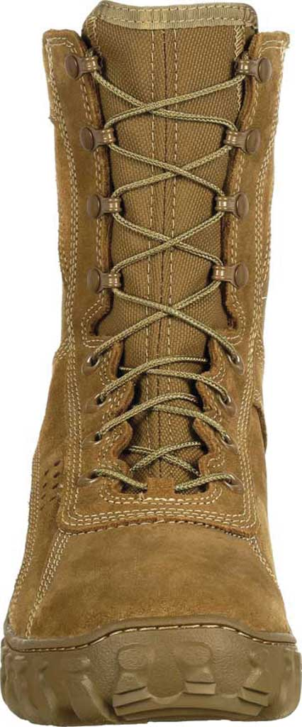 Men's Rocky S2V Tactical Military Boot RKC050, Coyote Brown Leather/Synthetic, large, image 4