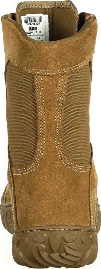 Men's Rocky S2V Tactical Military Boot RKC050, Coyote Brown Leather/Synthetic, large, image 5