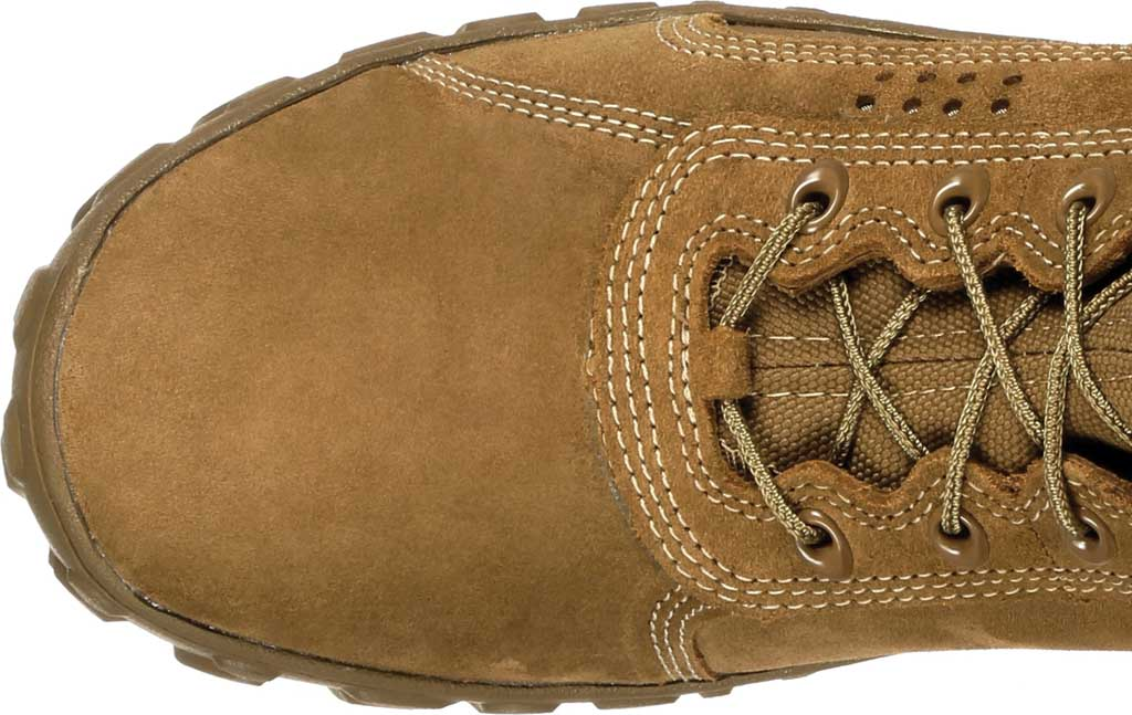 Men's Rocky S2V Tactical Military Boot RKC050, Coyote Brown Leather/Synthetic, large, image 6