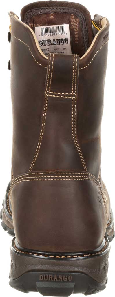 Men's Durango Boot DDB0173 Maverick XP Steel Toe WP Lacer Work Boot, Oiled Brown Full Grain Leather, large, image 5