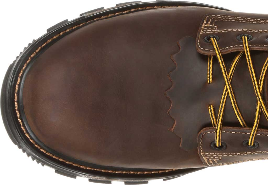 Men's Durango Boot DDB0173 Maverick XP Steel Toe WP Lacer Work Boot, Oiled Brown Full Grain Leather, large, image 6