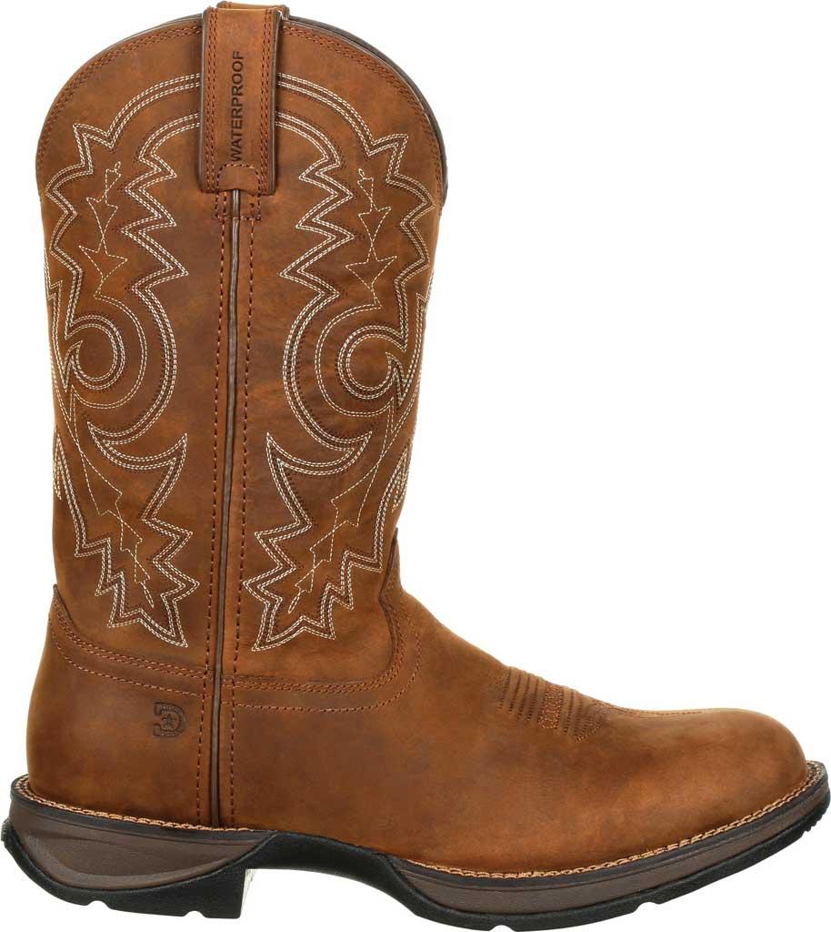 Men's Durango Boot DDB0163 Rebel Western Waterproof Boot, Coyote/Brown Full Grain Leather, large, image 2