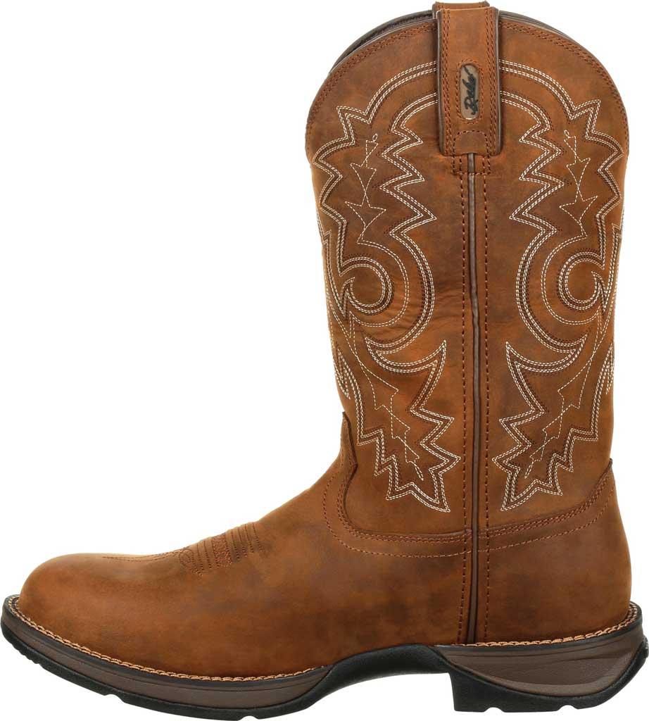 Men's Durango Boot DDB0163 Rebel Western Waterproof Boot, Coyote/Brown Full Grain Leather, large, image 3