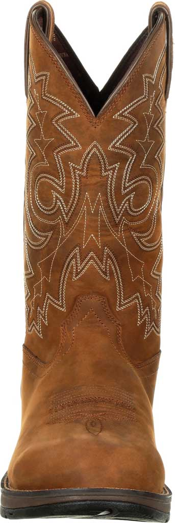 Men's Durango Boot DDB0163 Rebel Western Waterproof Boot, Coyote/Brown Full Grain Leather, large, image 4