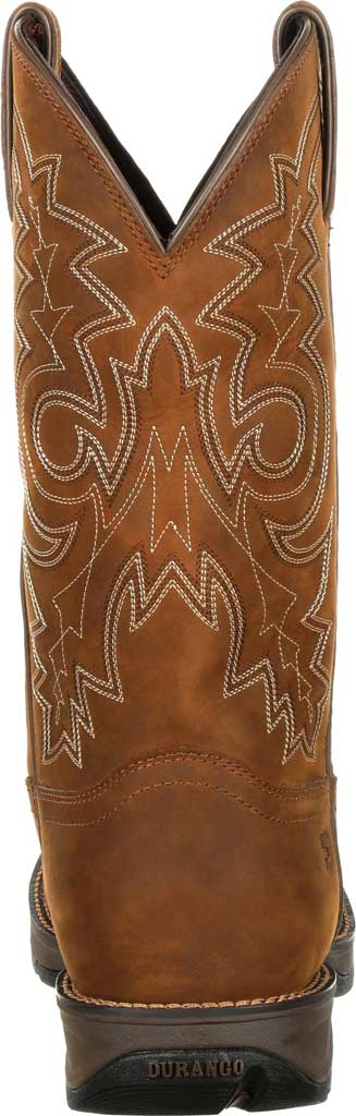 Men's Durango Boot DDB0163 Rebel Western Waterproof Boot, Coyote/Brown Full Grain Leather, large, image 5