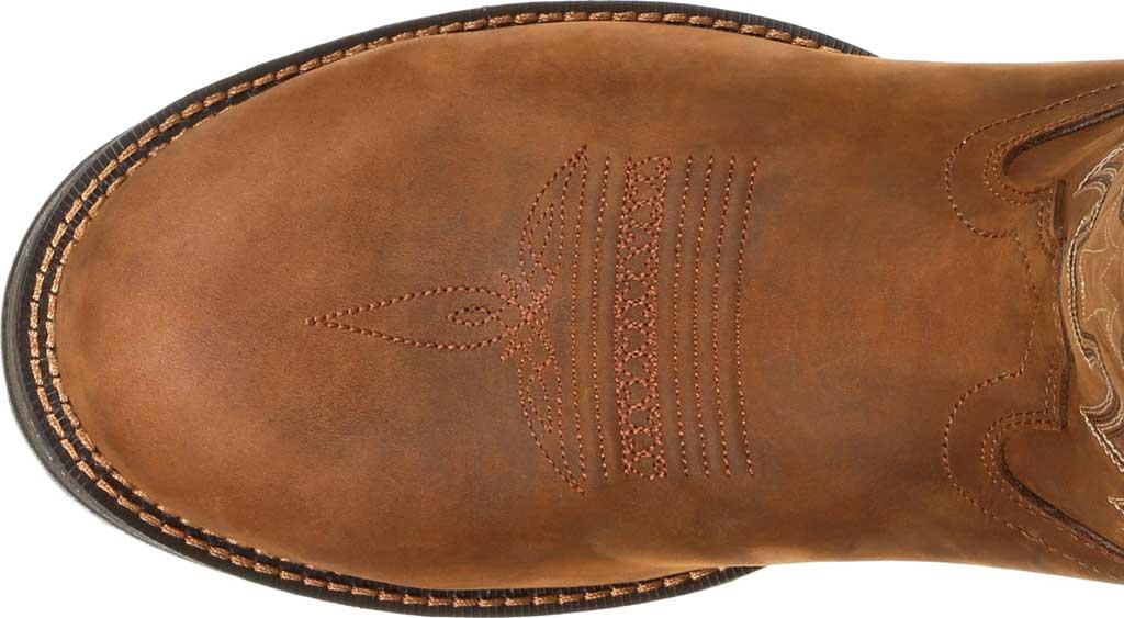 Men's Durango Boot DDB0163 Rebel Western Waterproof Boot, Coyote/Brown Full Grain Leather, large, image 6