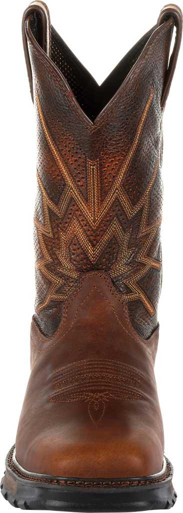Men's Durango Boot DDB0204 Durango Maverick XP Western Cowboy Boot, Tobacco Full Grain Leather, large, image 4